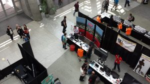 East Coast Games Conference booth