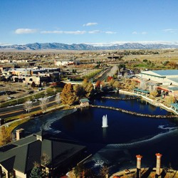 Accessing Higher Ground Conference - view of Westminster, Colorado