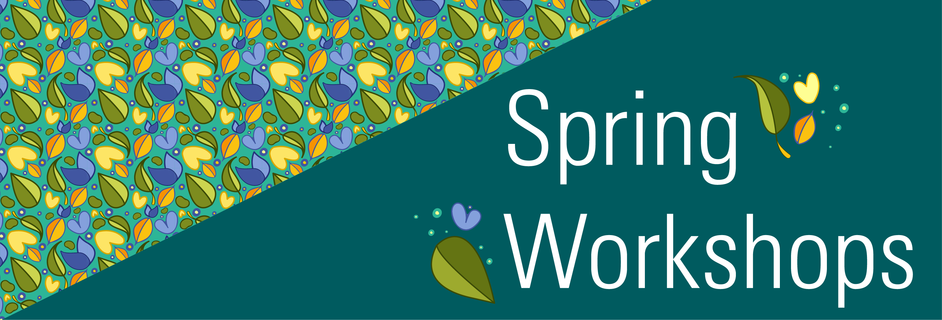 Spring into our Teaching with Technology Workshops