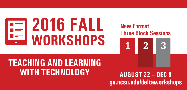 graphic advertising fall workshops