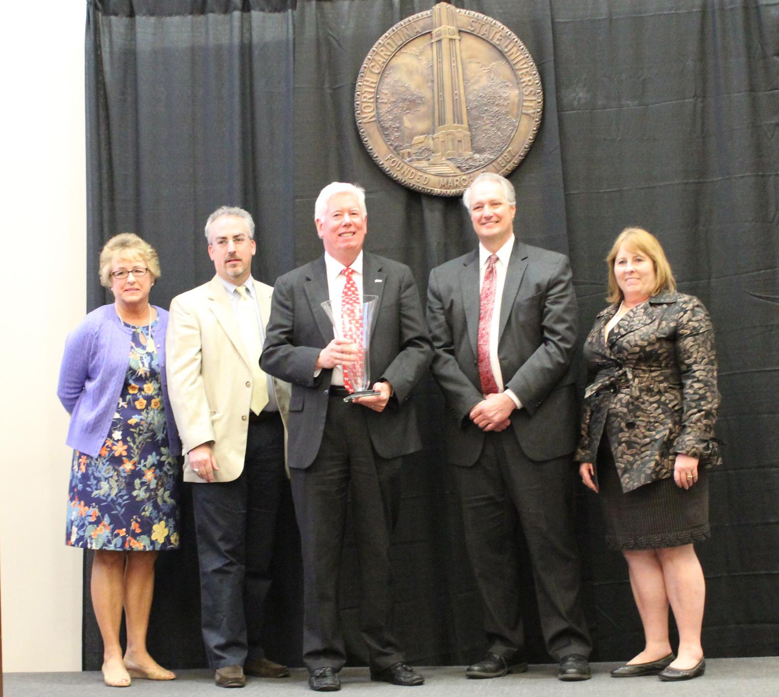 Dr. Tom Miller Receives William L. Turner Award