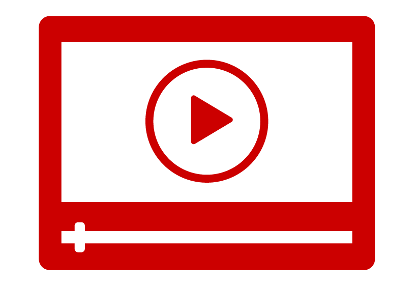 Icon of an online self-guided tutorial video