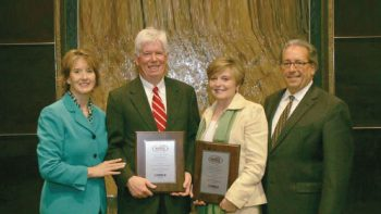 Dr. Tom Miller honored with national distance education award