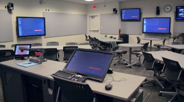 DELTA's First Fully Digital Classroom Created in Poe Hall