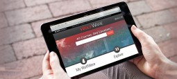 WolfWare interface on iPad