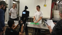 Knife Skills video shoot