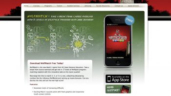 Wolfmatch game created to increase brand awareness
