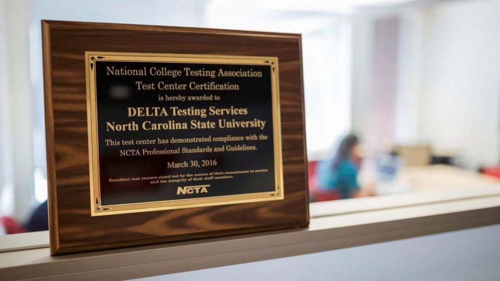 DELTA Testing Certificate