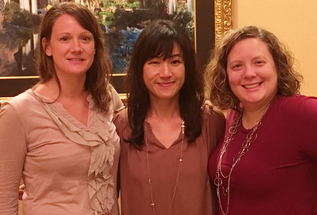 Allie Giro, Yiling Chappelow and Suzanne Edmonds