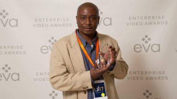 Jeff Robinson Finalist Award Recognition at Unleash17