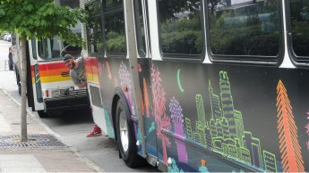Rich Gurnsey 2015 Art-On-The-Move Bus (2015)