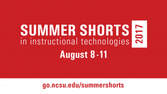 graphic announcing summer shorts august 8-11