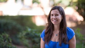 Photo of Bethanne Tobey outside of CTI. Photo by Thomas Crocker.