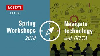 Spring Workshops 2018