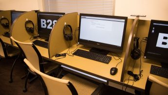 Centennial Campus Test Center computers