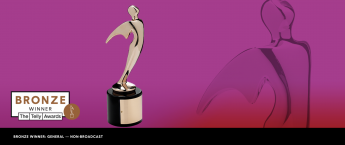 Telly Award bronze statue