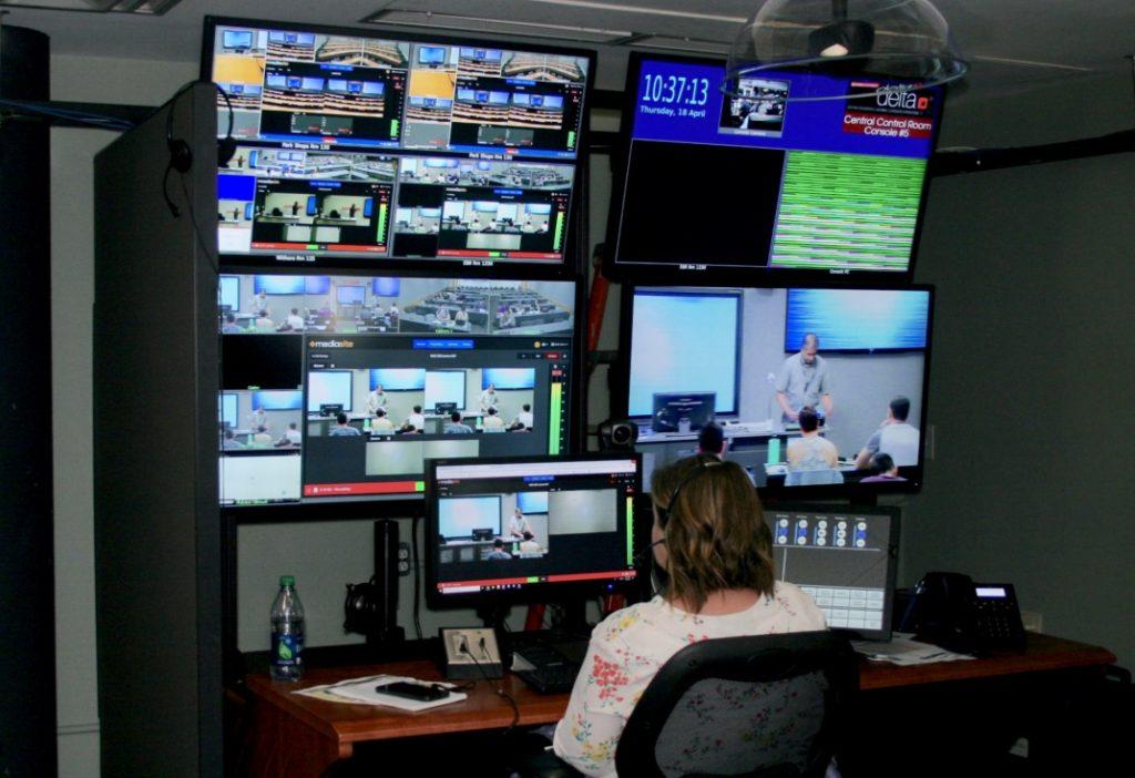 central control room pod