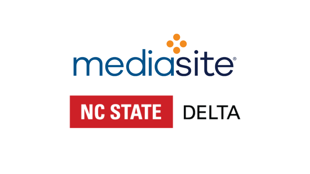Mediasite and NC State DELTA logos.