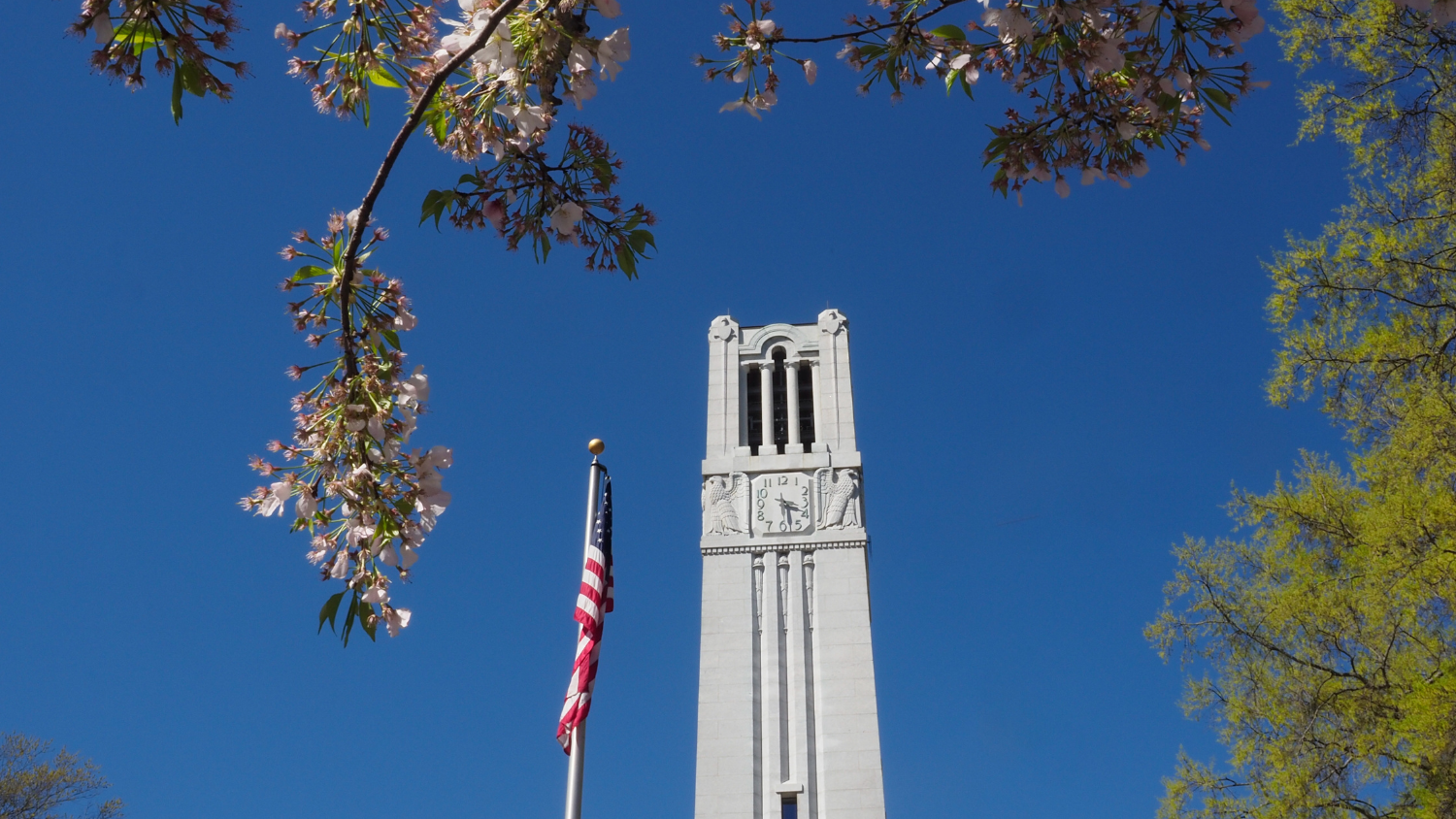 NC State Bell Tower.