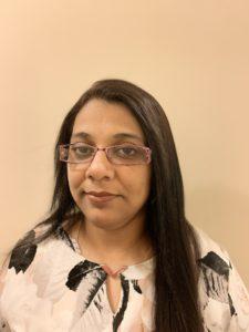 Headshot of online MAC student Preethi Ram Mohan.