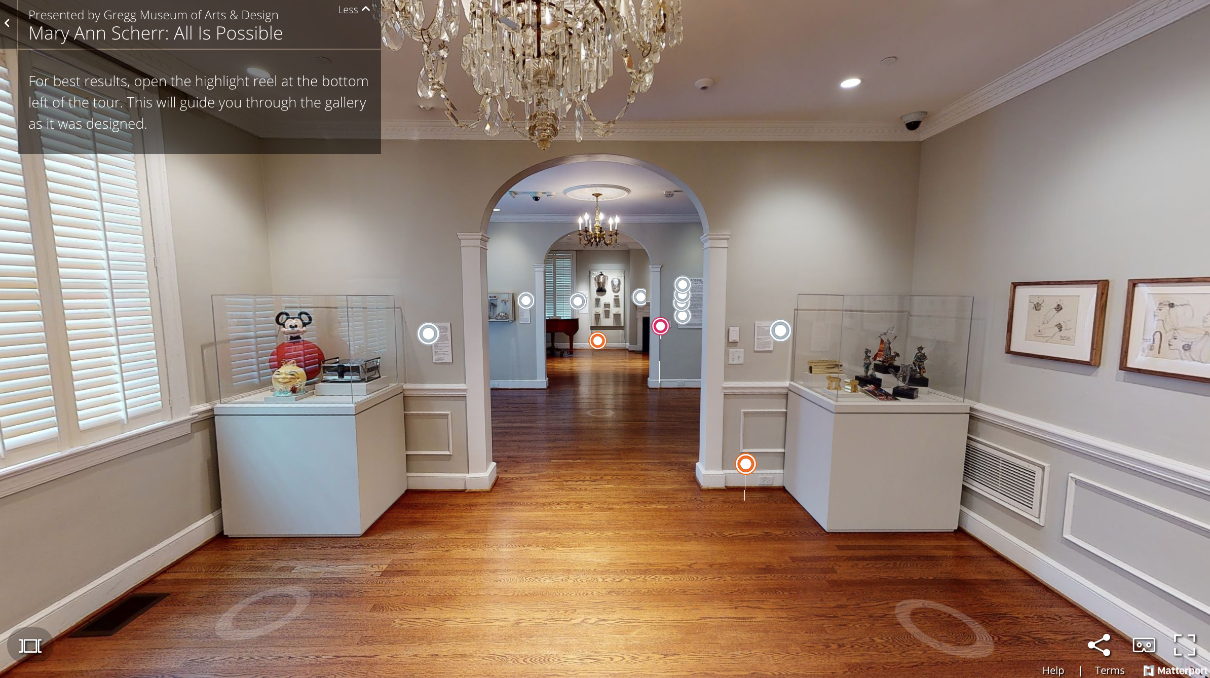 A glimpse into one of The Gregg Museum's virtual exhibits.