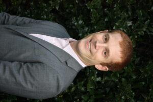 Graduate student Peter Erlenbach.
