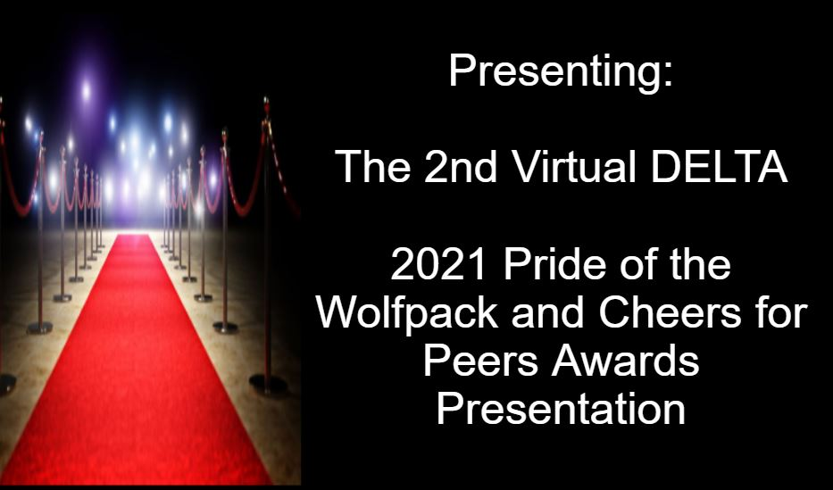 Image of red carpet with words: