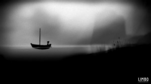 A screenshot from the Indie game Limbo