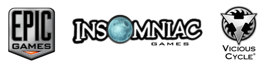 Epic Games, Insomniac Games, and Vicious Cycle Software